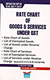 Lawpoint's Rate Chart of Goods & Services Under GST by CA. Roshan Lodha, CA. Vishal Saraogi