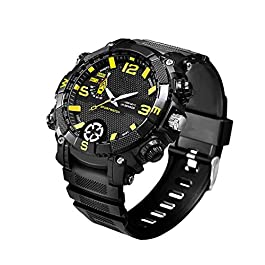 bloatboy FOX9 Sport Smart Watch – 5 Milioni HD Fotocamera Sportiva Outdoor WiFi Luce LED Smart Wrist Watch, 16G HD…