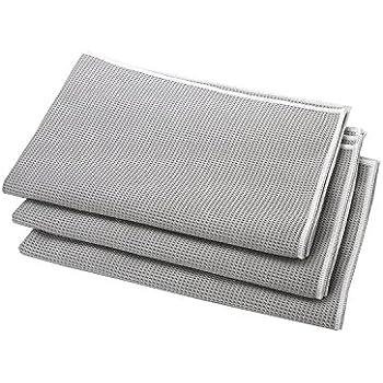 microfasert cher 6er pack bad wc t cher 2mal gr n 2mal gelb 2mal grau reinigung von. Black Bedroom Furniture Sets. Home Design Ideas