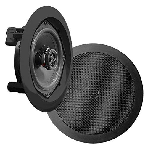 Pyle B00E94H308 In-Wand 2-Weg Unterputz Dual-Lautsprecher-System schwarz