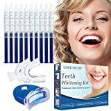 Kit di sbiancamento dentale,Kit Sbiancante Denti,Gel Sbiancante per Denti,Teeth Whitening Kit,Sbiancante Denti Led e Gel Sbiancante Denti,per Pulizia e Sbiancamento dei Denti