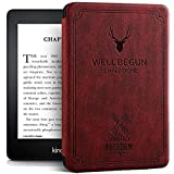 Robustrion Ultra Slim Smart Flip Case Cover for All Amazon Kindle Paperwhite 10th Generation (Not Compatible with Kindle…
