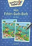 Die verflixten Sieben - Mein Fehler-Such-Buch - Am Meer: Rätsel für Kinder ab 5 Jahre