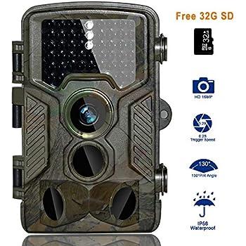 BestoU HD Trail Camera 16MP 1080P Wildlife Camera Infrared