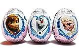 Disney's Frozen Sorpresa de chocolate de Huevo (paquete de 3)