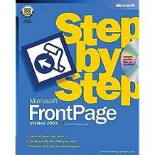 Microsoft FrontPage Version 2002 Step by Step (Step by Step (Microsoft))