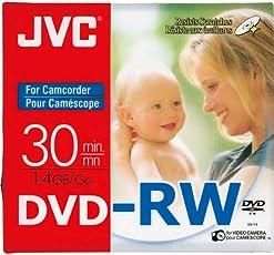 JVC 8CM Rewritable Mini DVD-RW for Camcorders