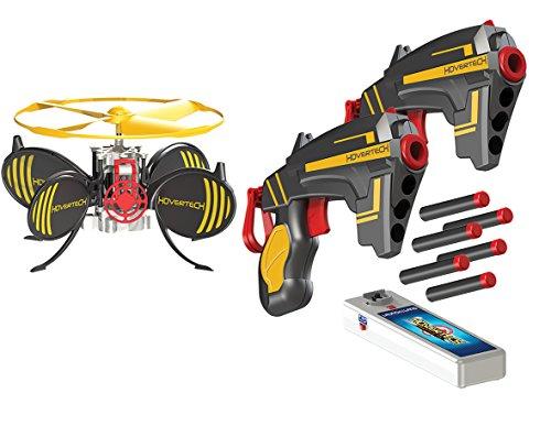 Giochi Preziosi - Hovertech Battle FX Drone Volante, Completo di Bersaglio, con 2 Pistole e 3 Dardi