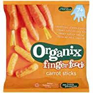 Organix Finger Foods Crunchy Carrot Sticks, Organic 20g