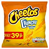 CHEETOS knusprige Käse Geschmack Mais Snacks 30g (30Stück)