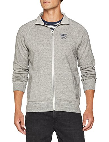 ESPRIT Herren Sweatshirt 088EE2J009, Grau (Medium Grey 035), X-Large