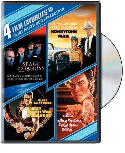 4 Film Favorites: Clint Eastwood (Space Cowboys, Honkytonk Man, Every Which Way But Loose, Any Which Way You Can) by Various