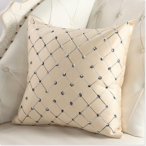 Lugii Cube oreillers Canapé lit Décor plaids Multicolore Taie d'oreiller arrière d'une chaise