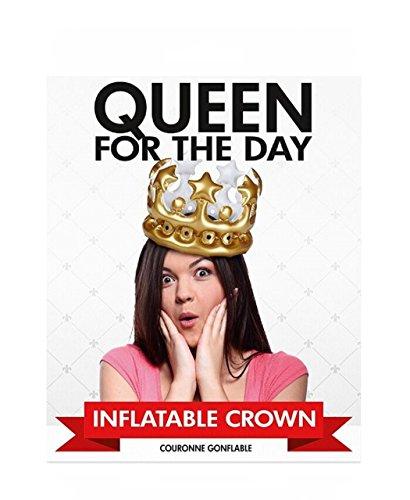asbare Krone ''Queen for The Day'' | Partyartikel | Mottoparty | Geburtstag | Junggesellen | Karneval | Königin des Tages ()