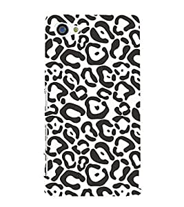 99Sublimation Animated Pattern of zebra Print 3D Hard Polycarbonate Back Case Cover for Sony Xperia Z5 Premium/ Premium Dual