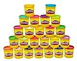 Play-Doh Hasbro 20383F03 Kollektion mit 24 Farben, Knete hergestellt von Hasbro