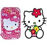 Prime Hello Kitty Design Pencil Box, Geometry Box For School Kids For Boys And Girls, Perfect Birthday Return Item For Kids, Multi Color, 30 Gram Pack Of 1