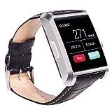 DM08 Bluetooth SmartWatch - TOOGOO(R) Bluetooth SmartWatch Handy-Uhr fuer Samsung iphone Android iOS Phone mit Kamera Silber