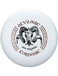 Eurodisc 175 g 4.0 Ultimate frisbee disco de bioplástico Devil blanco