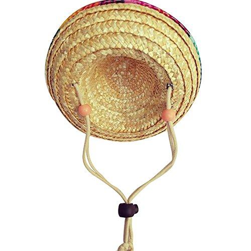 Godagoda Haustier Hut Persönlich Kostüm Cosplay Kleidung Deko Zubehör Sonnenschutz für Katze Hund (Zubehör Für Eine Katze Kostüm)