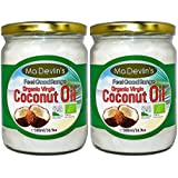 Ma Devlin's 100% Organic Virgin Coconut Oil 500ml (Pack of 2)