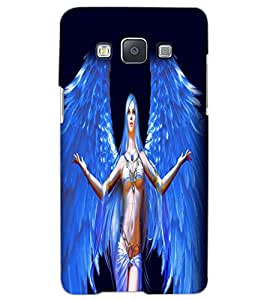 SAMSUNG GALAXY A5 ANGEL GIRL Back Cover by PRINTSWAG