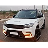 Shoppersville Front Grill for Brezza Range Rover Style, (FGRILL-Brezza (RR))