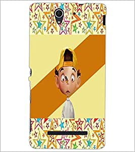 PrintDhaba Cartoon D-3308 Back Case Cover for SONY XPERIA C3 (Multi-Coloured)