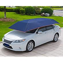 LopazShade EmPowered Living – automatique Tente Carport avec télécommande Portable protection de lautomobile Parapluie