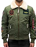 Alpha Industries Injector III Patch Jacke Oliv XXL