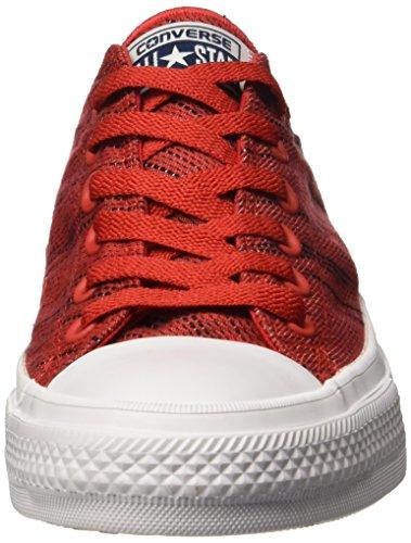 Taylor Damen Converse All Chuck Sneaker weiß Star Ii Rot Ox wRRO7nqEr