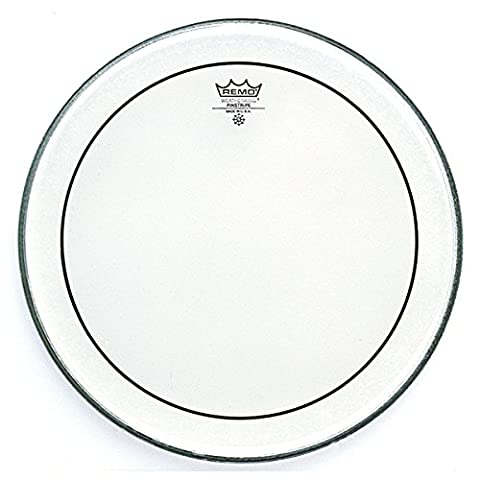 Remo PS-1318-00 18 inch Pinstripe Clear Drum