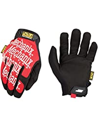 Mechanix The Original Paire de Gants, Noir/Rouge, S