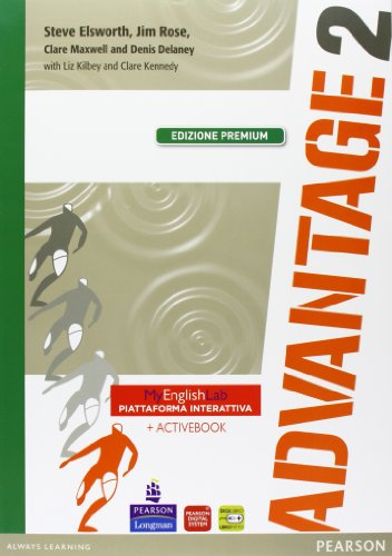 Advantage. Student's book-Workbook-Culture gym. Ediz. premium. Per le Scuole superiori. Con CD Audio. Con espansione online: 2