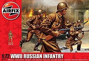 Airfix - WWII Russian Infantry, Set de Figuras (Hornby A01717)