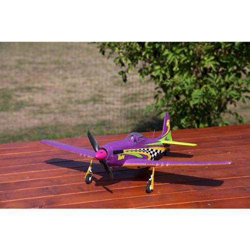 ACME - P-51 Mustang Voodoo - ARF Kit inkl. 3 Servos ,agil und wendiges Motorflugzeug!!Ohne Fernsteuerung!! (AA4008)