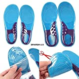 SPARSH 4.0 Ultra Soft Gel and Fabric Insoles for Walking and Running