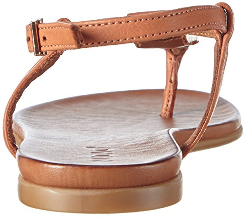 Inuovo - 6344, Scarpe col tacco con cinturino a T Donna Marrone (Marrone (Coconut))