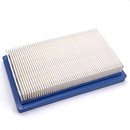 vhbw Ersatzfilter blau für Rasenmäher Güde Big Wheeler 560 Super
