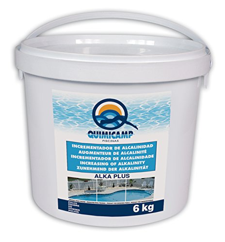 Quimicamp Alka plus (Anti-cal para piscina) 6 Kg - 203306