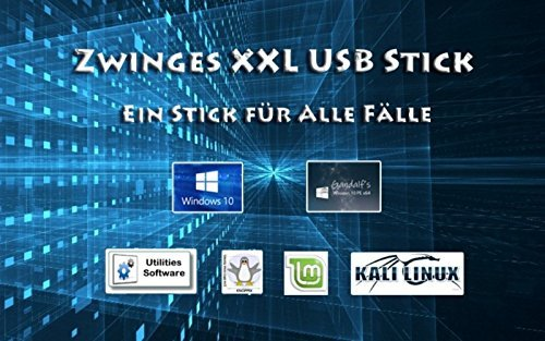 7 Windows Usb-stick (UEFI USB Stick Windows 7 / 10 / Linux / Knoppix / Security uvm)