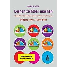 """Lernen sichtbar machen: Überarbeitete deutschsprachige Ausgabe von """"Visible Learning"""""""