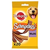 Best Our Pets Dogs Treats - Pedigree Schmackos Dog Treats Meat Variety, 20 Sticks Review