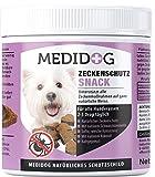 Medidog 400g Premium Zecken Schutz Drops, kaltgepresst und getreidefrei, Zeckenschutz für Hunde, Alternative zu Zeckenzange, Zeckenhalsband, Zeckenkarte mit Schwarzkümmelöl und Kokosöl