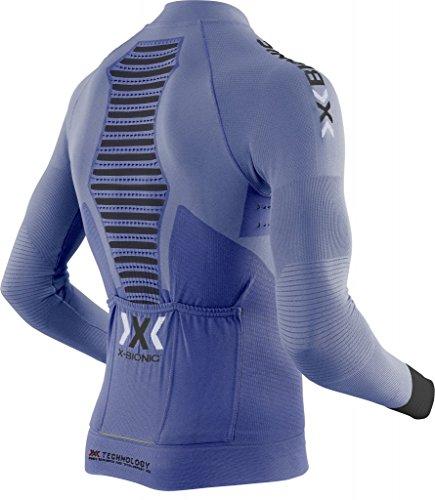 X-Bionic Biking Man RACE EVO Shirt Long Zip Marina/Blue/Anthracite