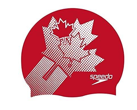 Speedo Bonnet de bain Bonnet de bain en silicone Flat Casquette, Canada