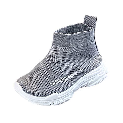 UOMOGO Scarpe Bambino Sportive - Donna Sneakers Scarpe da Ginnastica Ragazze Interior Casual all'Aperto Sportive Scarpe 1-6 Anni