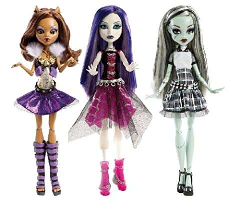 Mattel Monster High Y0421 - It's Alive Doll (Monster High Puppen Deuce)