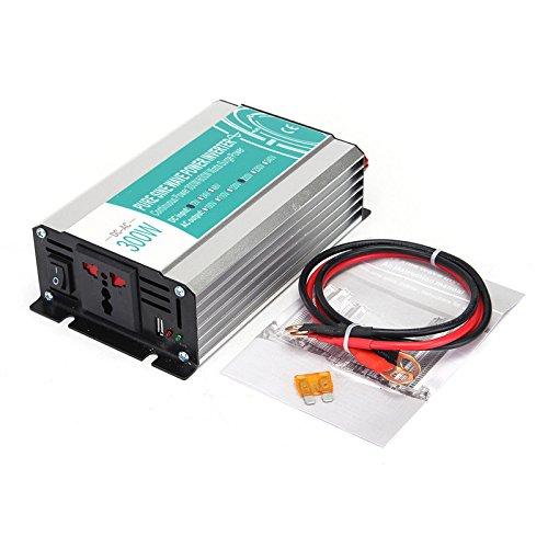 New DC12V zu AC110V/220V 300W Reiner Sinus Wechselrichter Stromkreise Off Raster für Koko