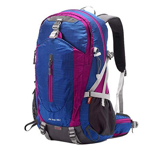 GYBY Outdoor-Reiserucksack, 38L faltbarer ultraleichter Rucksack, wasserdichter faltender kampierender im Freienreiserucksack-purple -